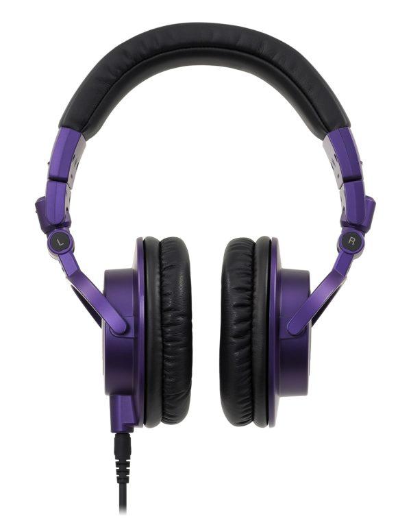M50xPB Purple studiokuulokkeet tuotekuva.