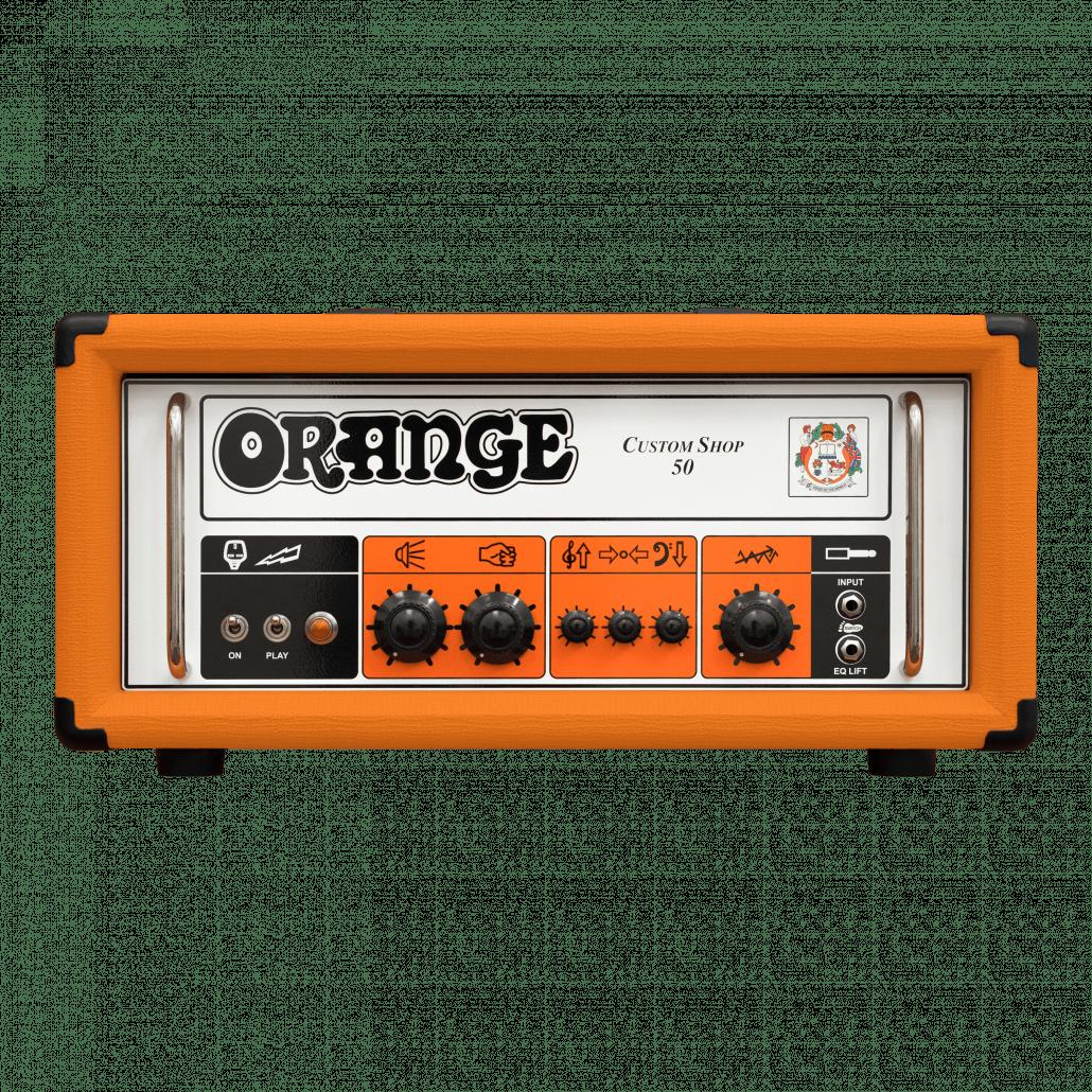 Orange Custom Shop 50 kitaravahvistin.