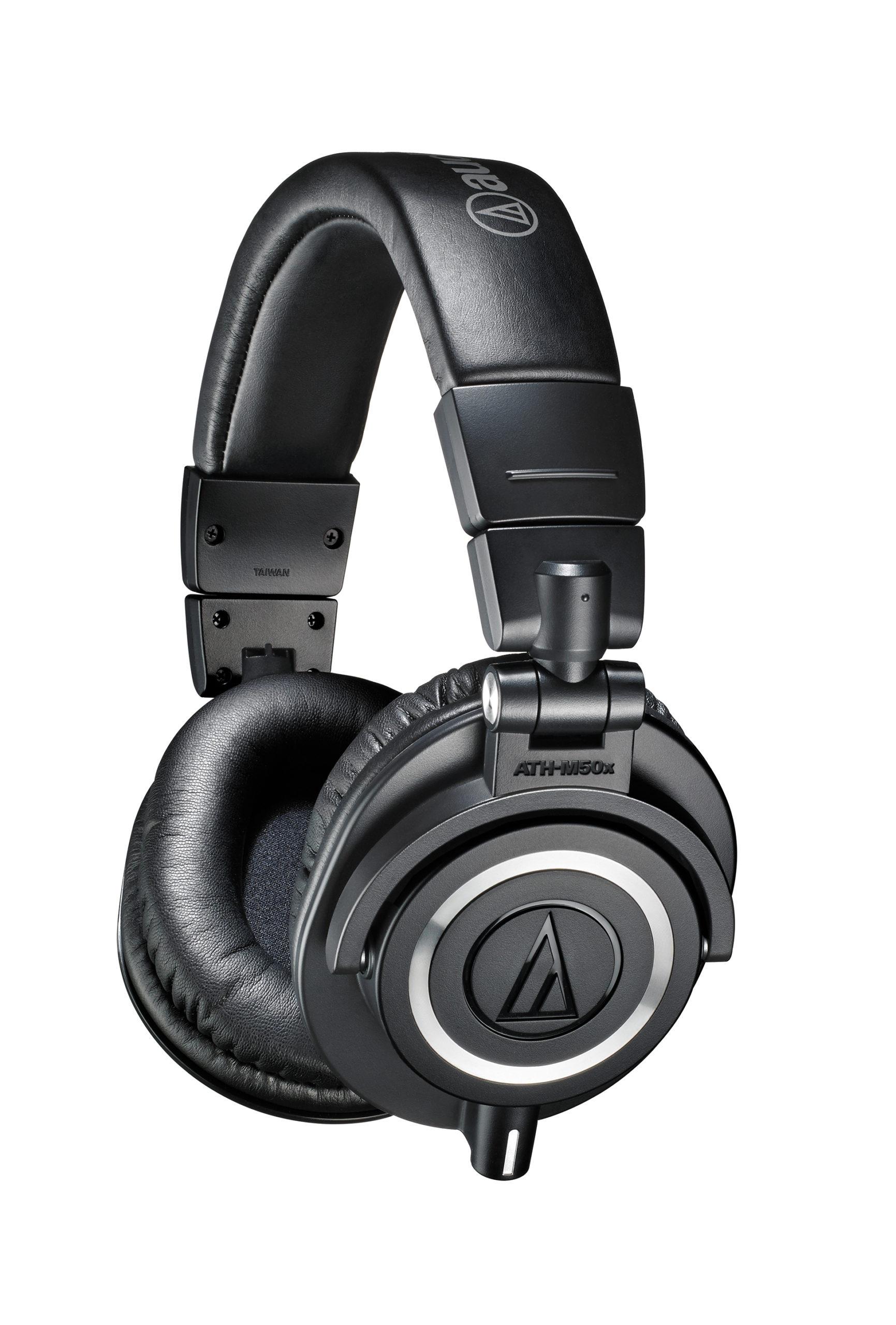 Audio-Technica ATH-M50x Studiomonitorikuulokkeet - mustat.