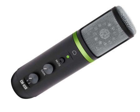 Mackie EM-USB USB Condenser Microphone.