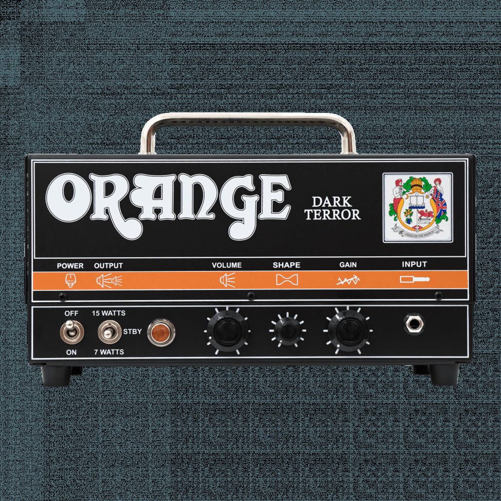 Orange Dark Terror kitaravahvistin.