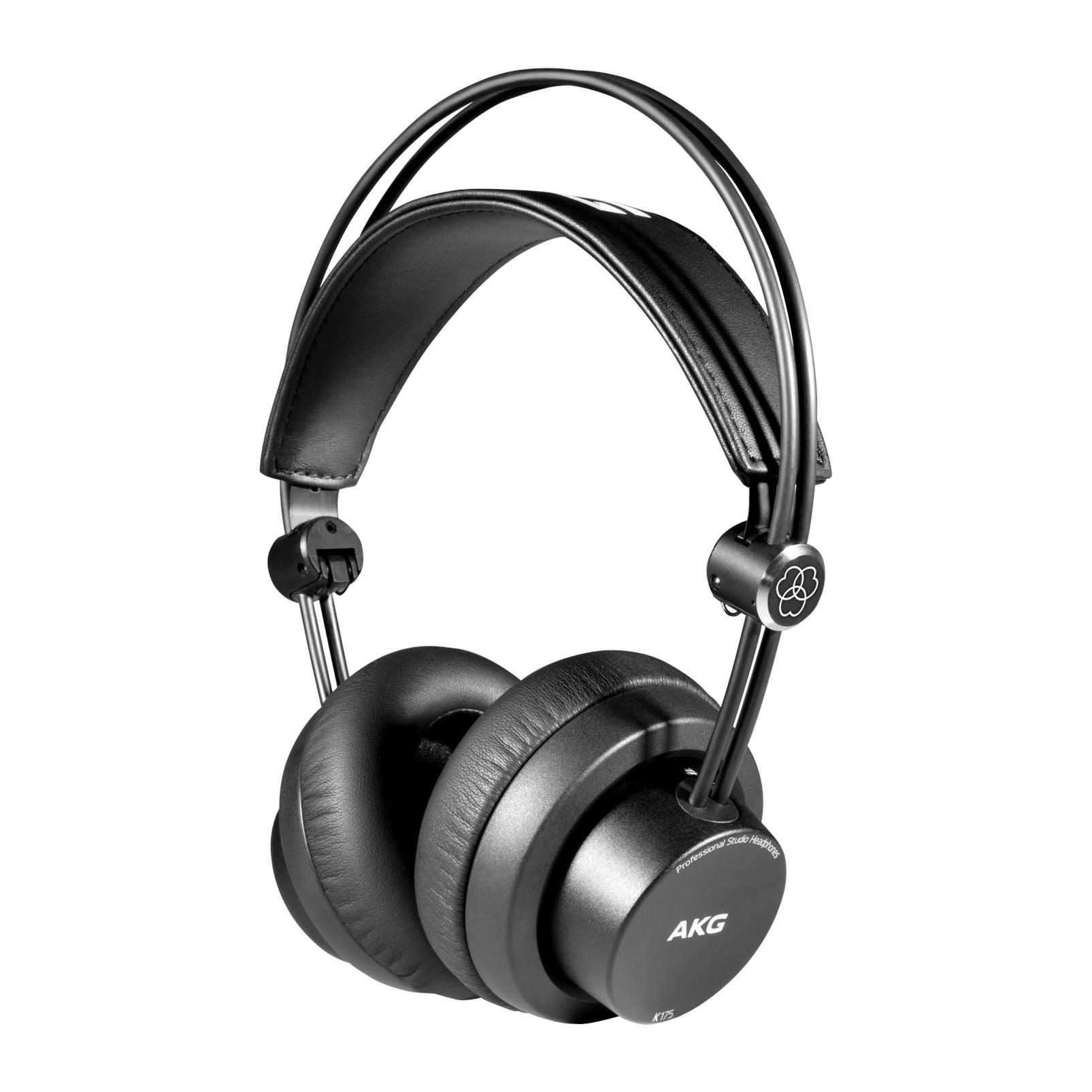 AKG K175 suljettu, taittuva kuuloke.