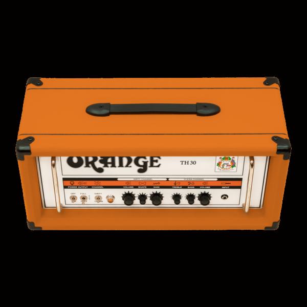 Orange TH30 yläviistosta.