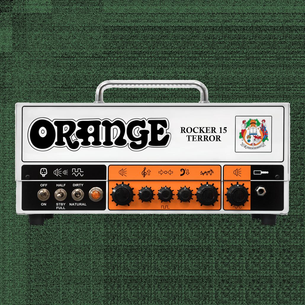 Orange Rocker 15 Terror kitaranuppi.