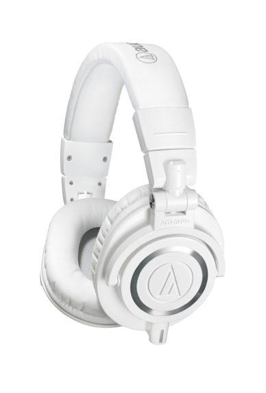 Audio-Technica ATH-M50x studiokuulokkeet - Valkoiset.