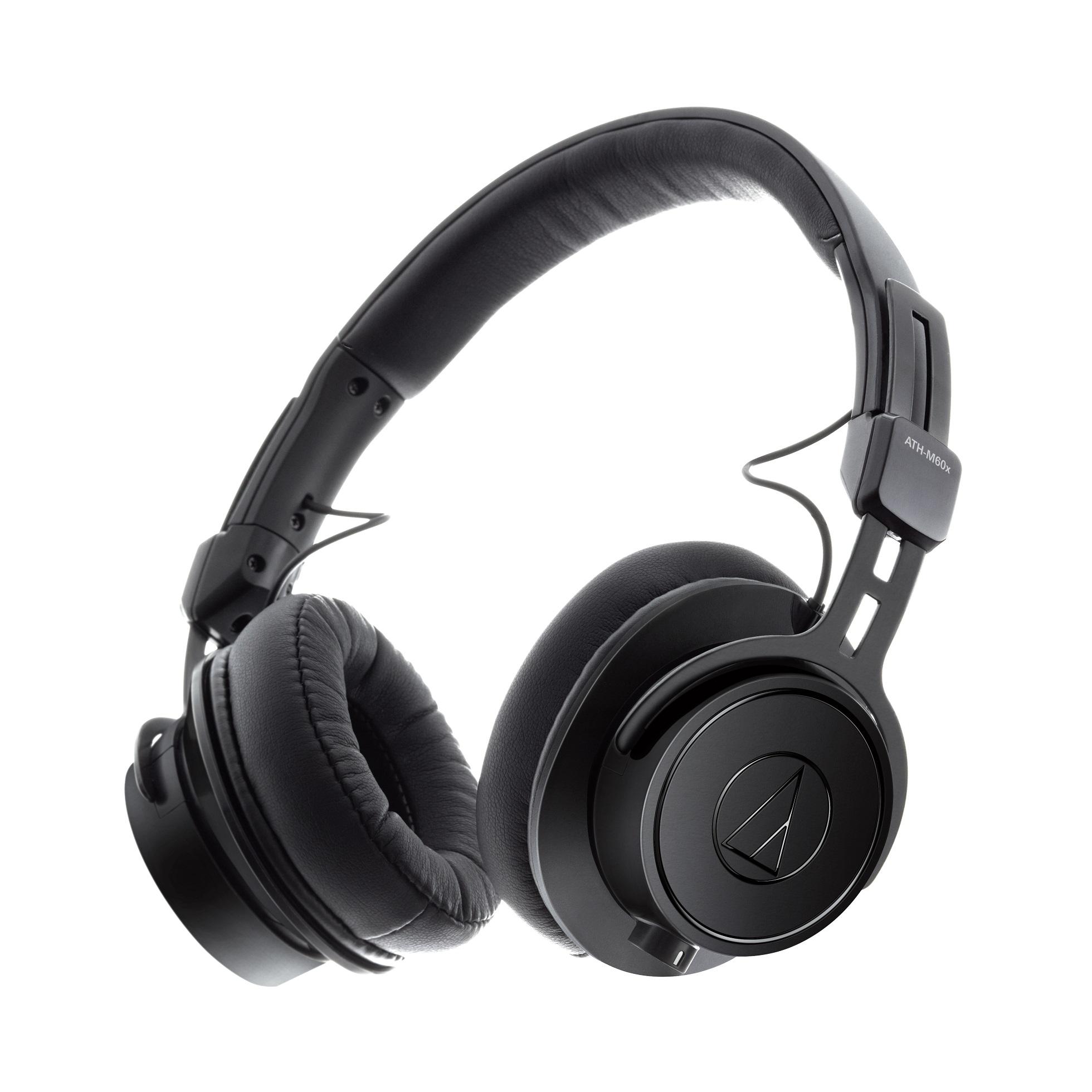 Audio-Technica ATH-M60x suljettu tarkkailukuuloke.