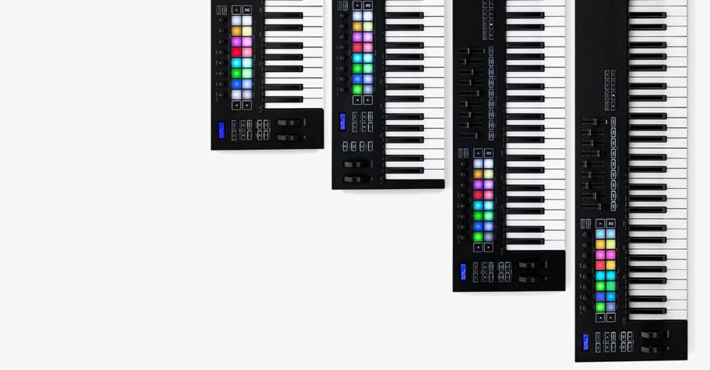 Keyboardit MIDI ja USB
