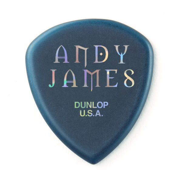 Dunlop Andy James Flow Jumbo plektra takaa.