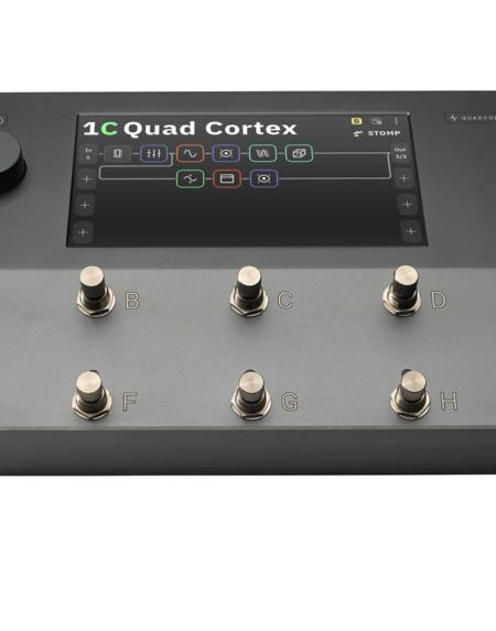 Neural DSP Quad Cortex efektiprosessori ja vahvistin.