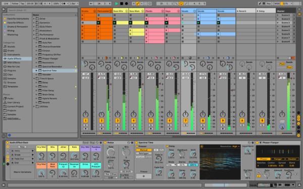 Ableton Live 11 makro toimintojen uudistukset.