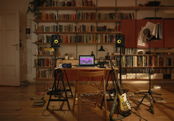 Ableton Live 11 käyttöympäristö.