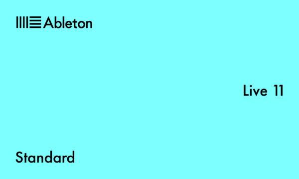 Ableton Live 11 Standard.