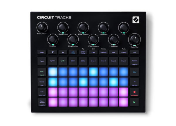 Novation Circuit Tracks groovebox.