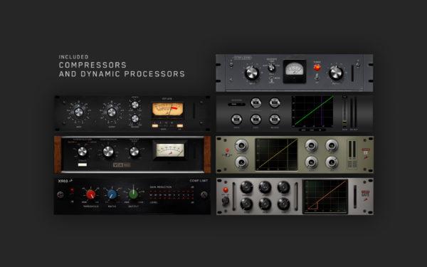 Antelope Audio Synergy Core kompressori ja prosessointi efektejä.