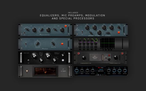 Antelope Audio Synergy Core Ekvalisaattori efektejä.