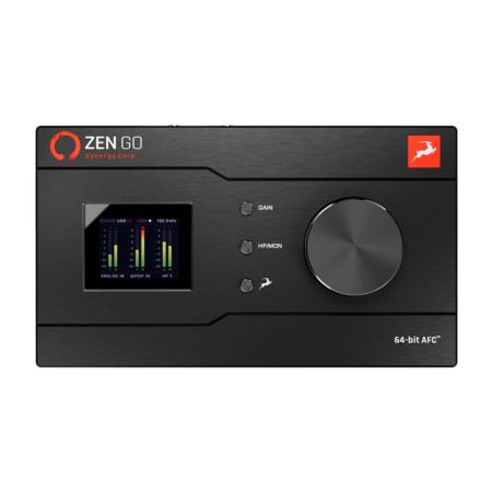 Antelope Audio Zen Go -äänikortti tuotekuva.
