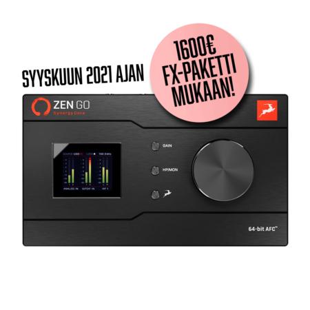 Antelope Audio Zen Go -äänikrotti tarjous.