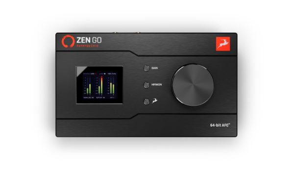 Antelope Audio Zen Go Synergy Core äänikortti ylhäältä.