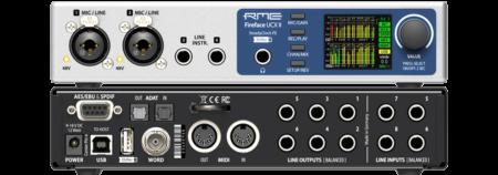 RME Fireface UCX II -äänikortti USB-väylään.