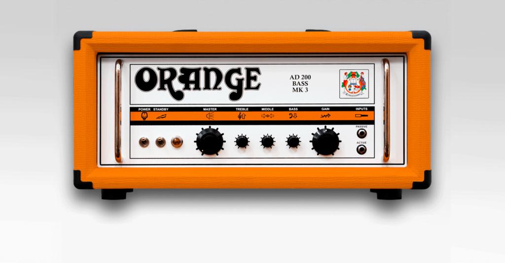 Orange bassovahvistimet