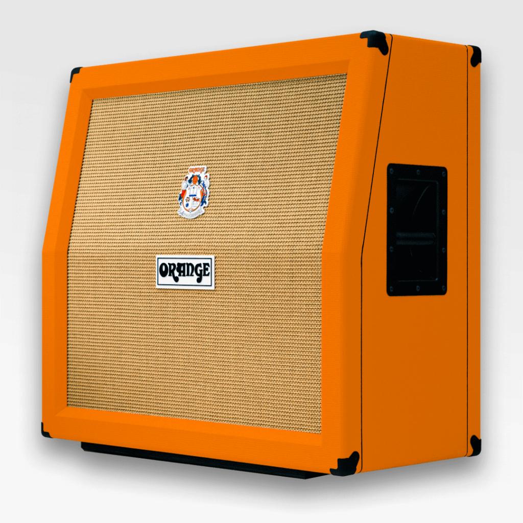 Orange kitarakaapit