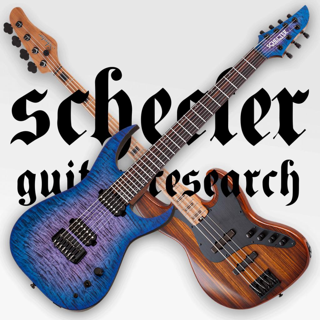 Schecter Guitar Research.