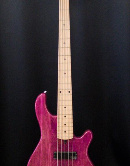 Lakland Skyline 55-OS Purple 5-kielinen basso.