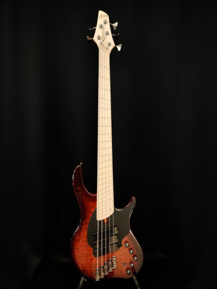 Dingwall Combustion Vintage Burst 5-kielinen bassokitara.